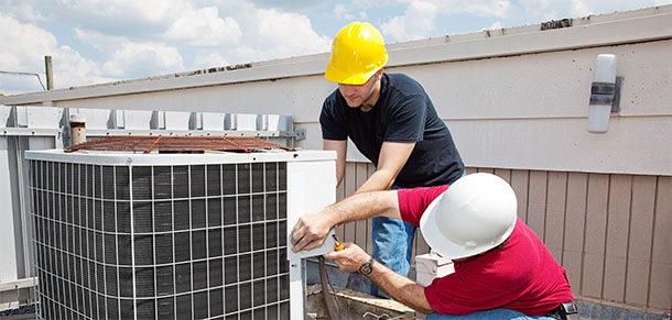 air conditioning repair in Highland Park